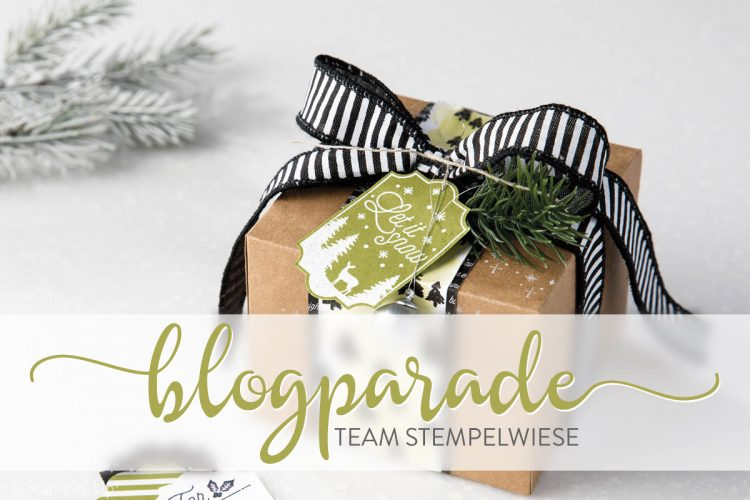 Blogparade Stempelwiese - Weihnachtsverpackung
